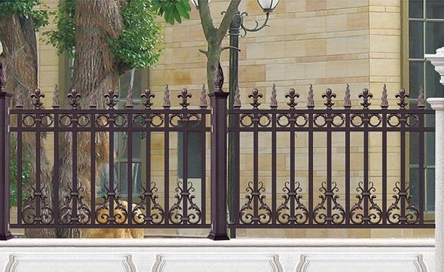 成都铝艺庭院围栏