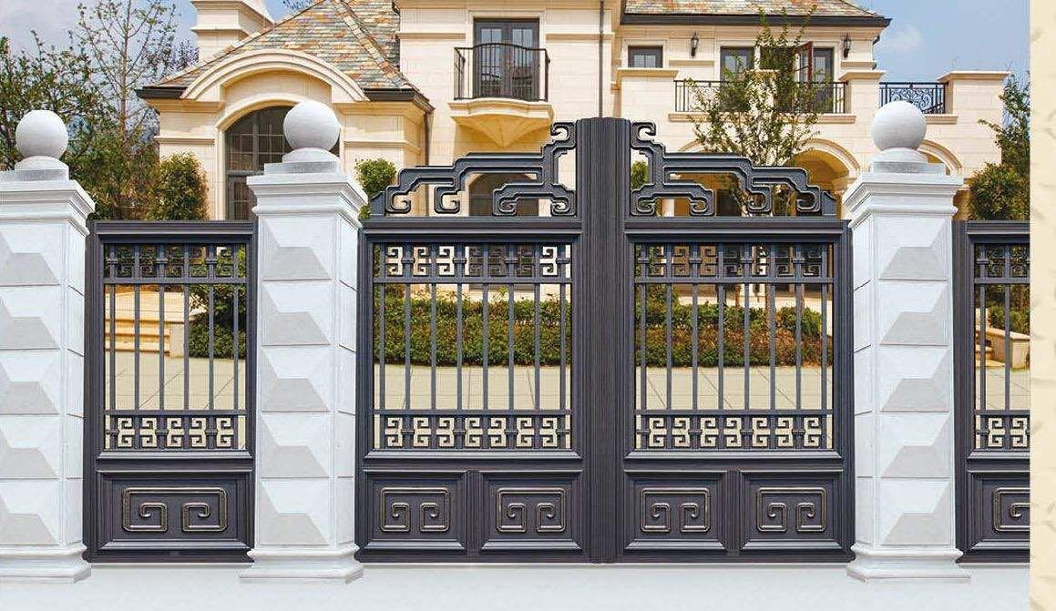 铝艺庭院门定制到底是焊接的好还是组装的好