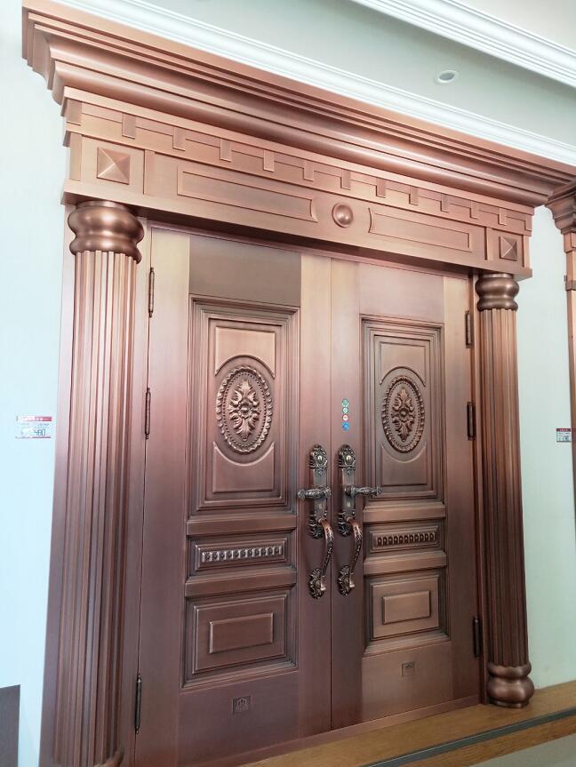 成都纯铜门 YD-1811