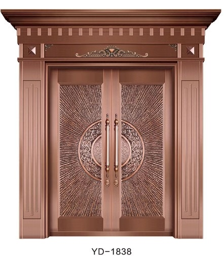 成都纯铜门 YD-1838