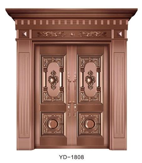 成都纯铜门 YD-1808