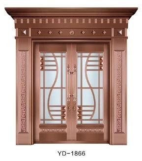 成都纯铜门 YD-1866