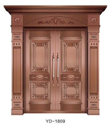 成都纯铜门 YD-1809