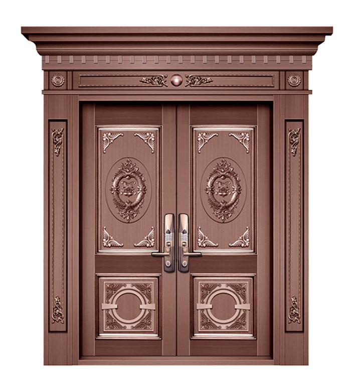 成都纯铜门定制教你如何区分市场上的真铜门和仿铜门
