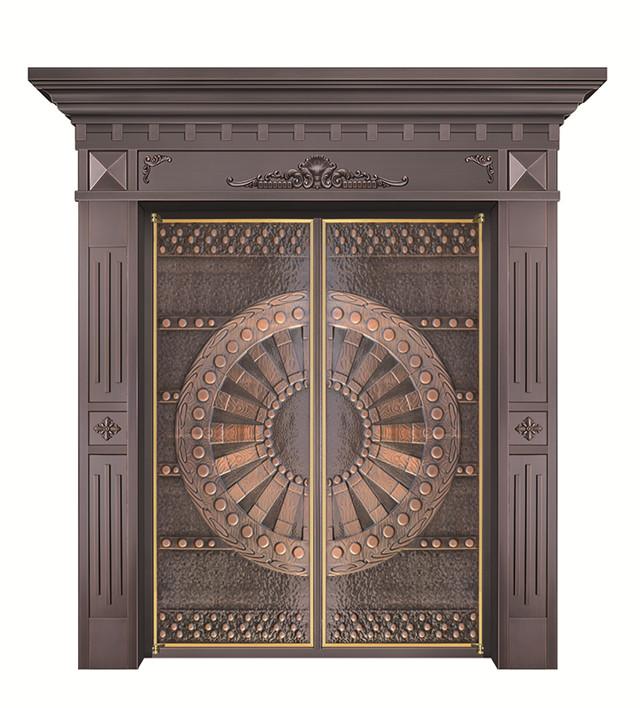 为何现在越来越多的人喜欢铜门了?
