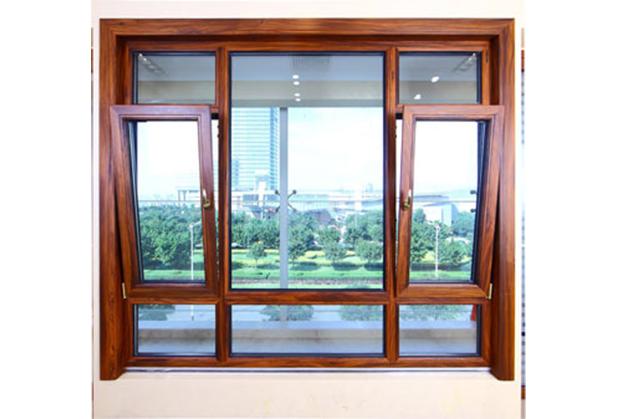 成都铝木复合门窗安装