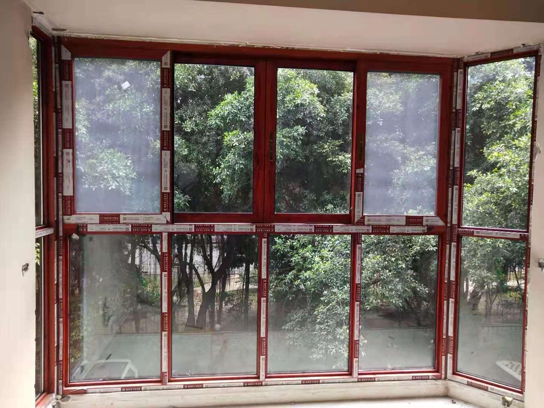 成都武侯区断桥铝防盗窗安装案例