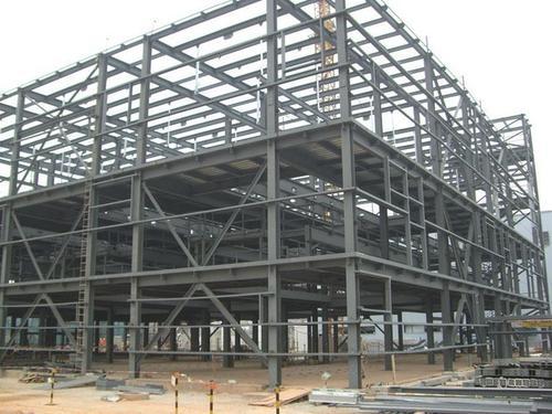 华龙与某工程合作乌兰察布钢结构加工案例
