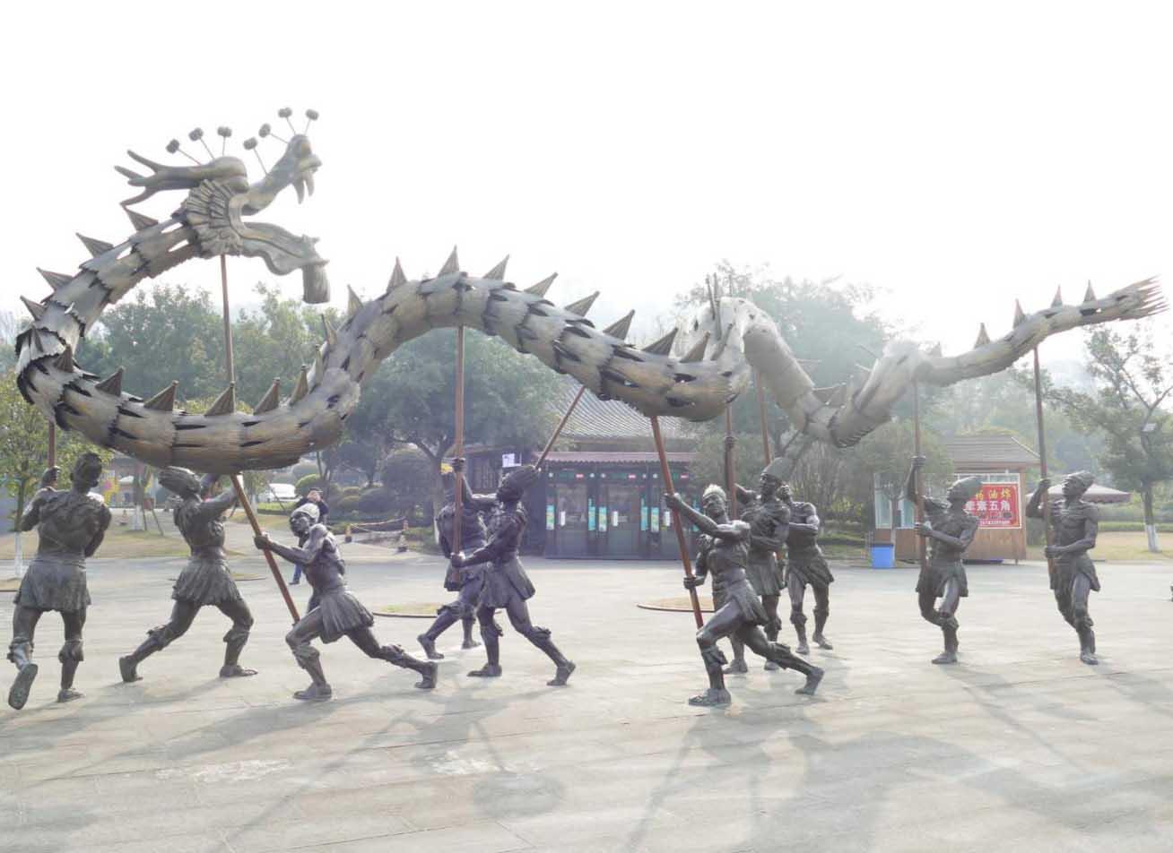 成都金属雕塑制作