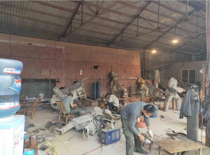 雕塑制作工厂