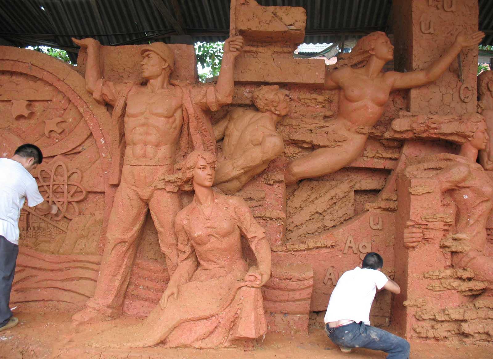 成都人物雕塑制作