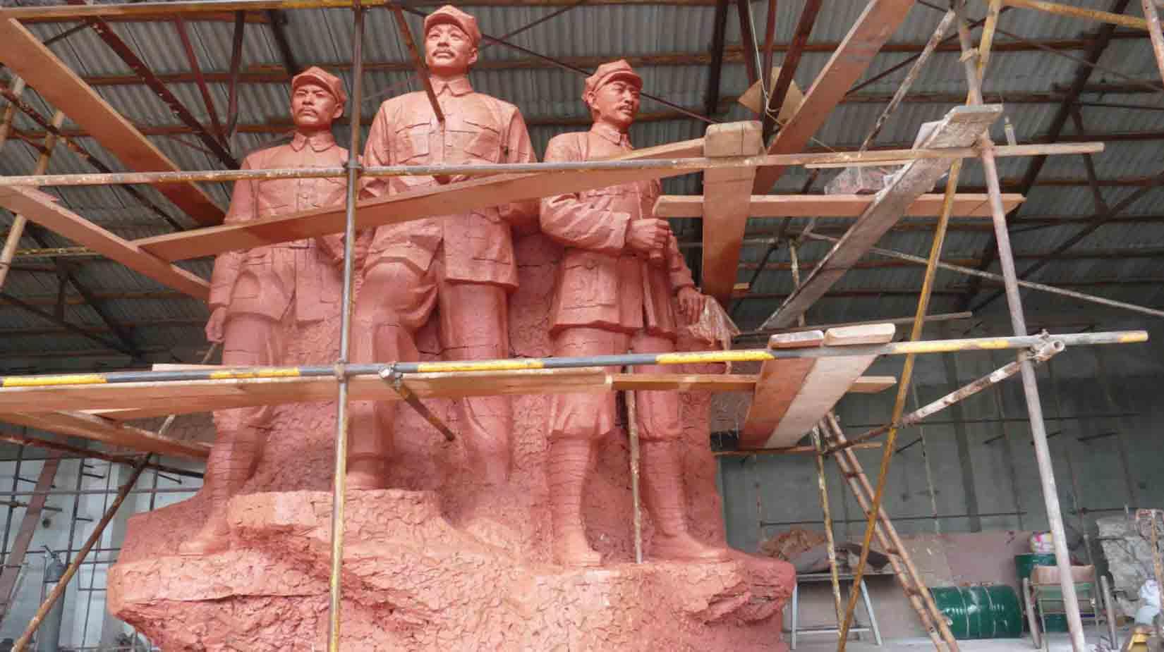 德钦县-《贺龙》高4.5米