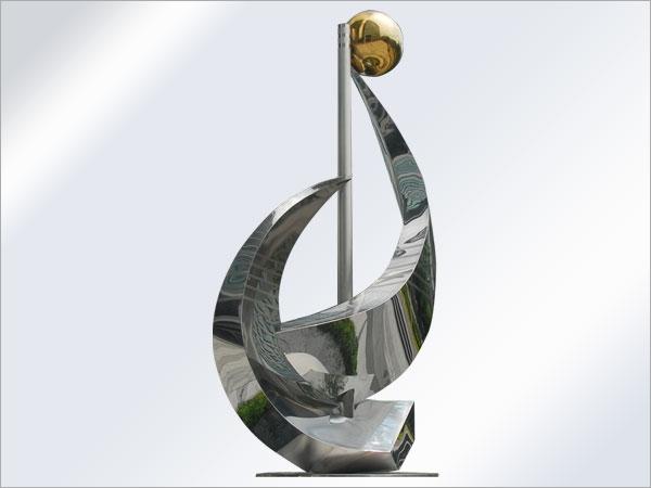 不锈钢雕塑一般选择什么材质和厚度?