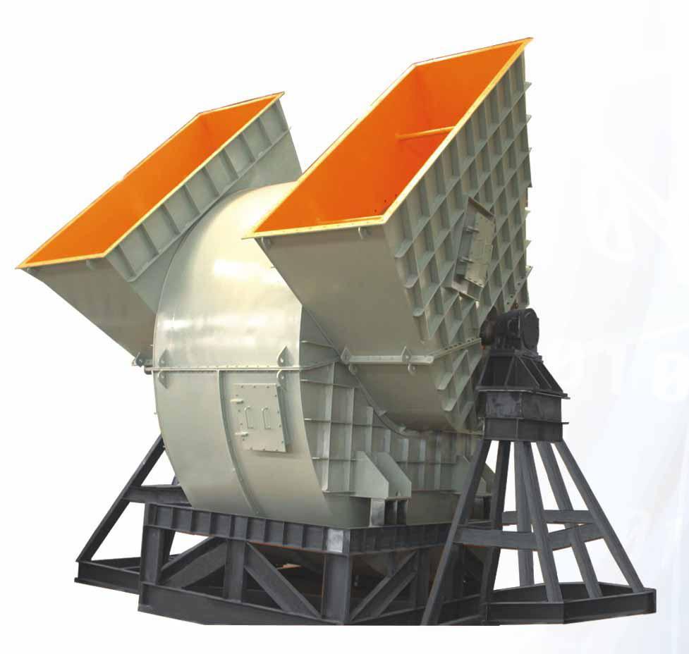 Y4-2×73型锅炉离心引风机
