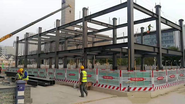 陕西钢结构车库施工