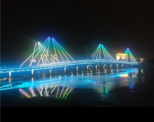 LED灯桥梁亮化
