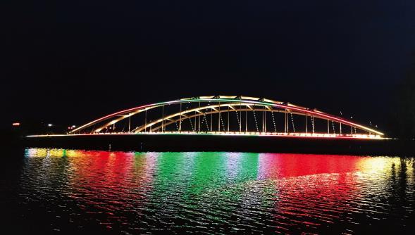浅析陕西桥梁景观亮化工程施工的重点、难点