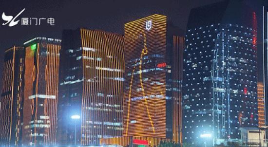 2019年第28届金鸡百花电影节夜景照明引人注目