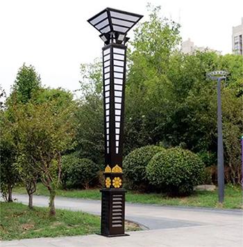 浅谈广场景观设计中景观灯的设计思路