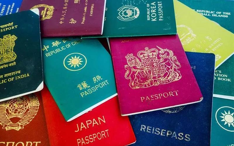 为什么出国劳务的护照还有不同的颜色
