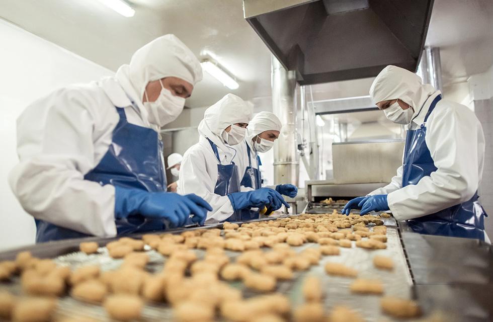 雅诗吉二氧化氯消毒粉在食品加工方面的消毒应用