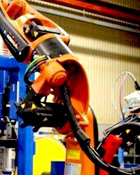 机器人喷涂打磨应用