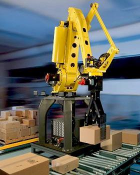 机器人码垛搬运应用
