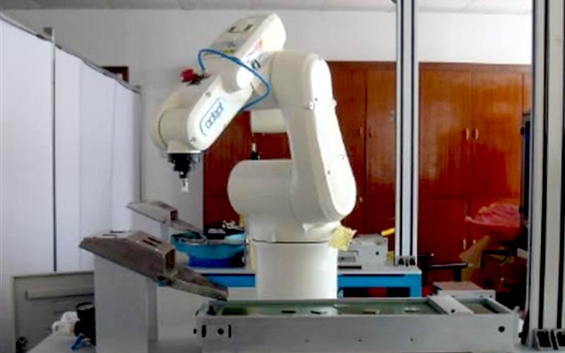 机器人视觉搬运独立教学工作站
