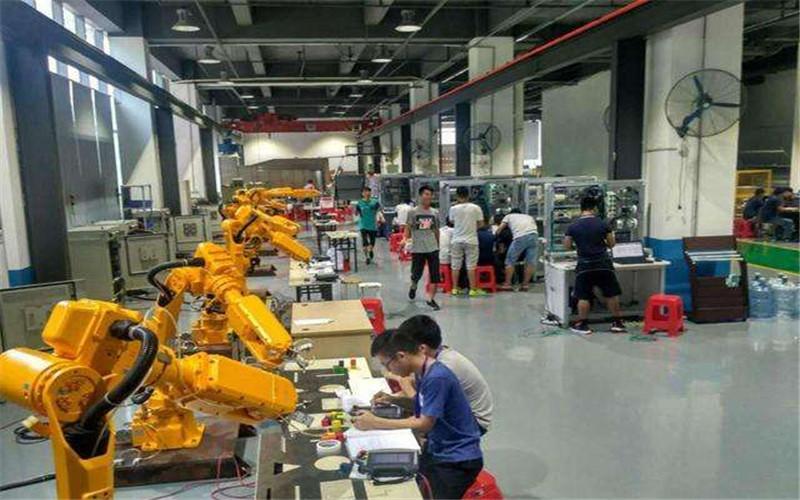 工业机器人编程操作培训