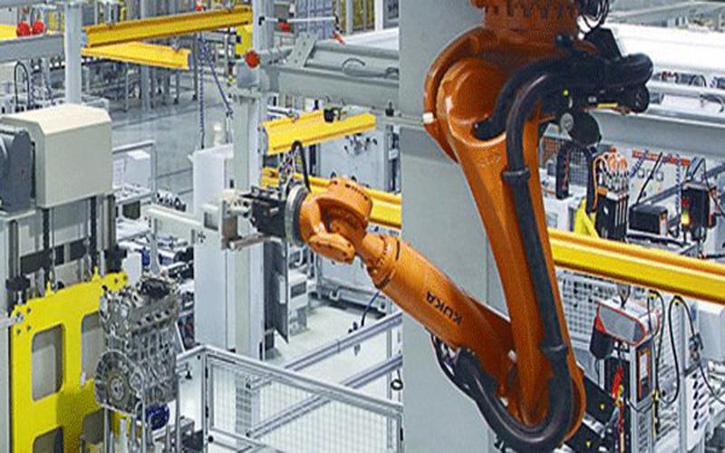 工业机器人的主要组成部分