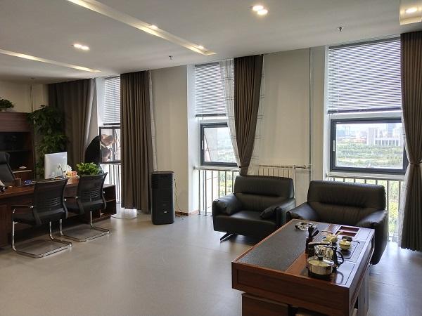 乌兰察布万达集团京美特纱窗安装案例