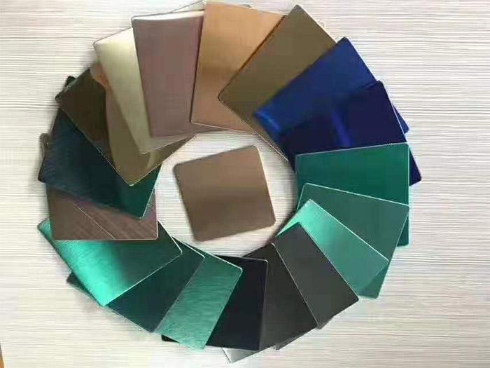 兰州天宏旺304不锈钢彩色板-花纹不锈钢板厂家
