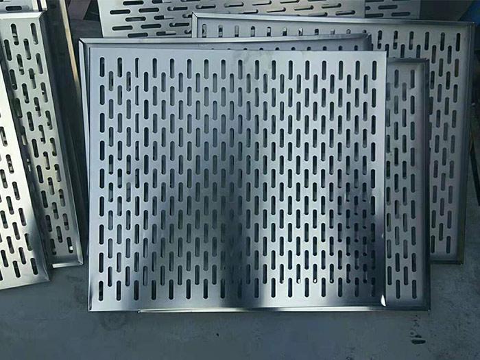 不锈钢地沟盖板的生产