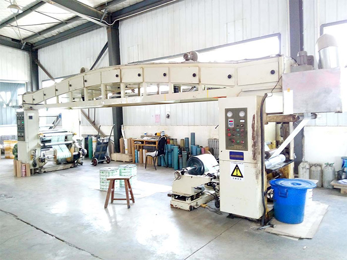 森源印务塑料包装袋生产机械展示