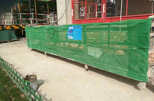 广州电动吊篮设备租赁案例