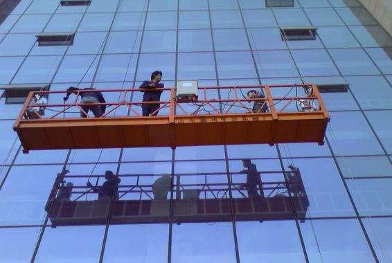 广州吊篮悬挂机构的安装与调整