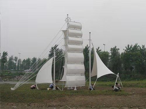 青海钢索膜结构工程