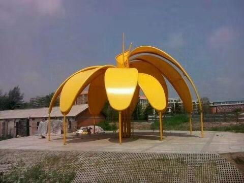 青海景观膜结构设计