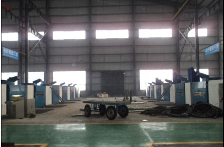3吨钢壳中频炉