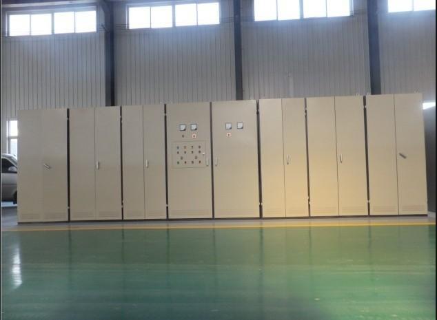 西安蓝辉串联中频炉厂浅谈串联一拖二中频炉优点