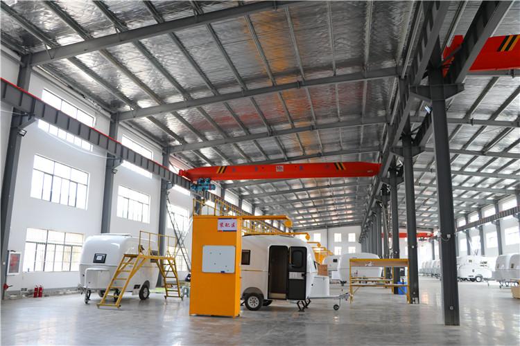 拖挂式房车生产
