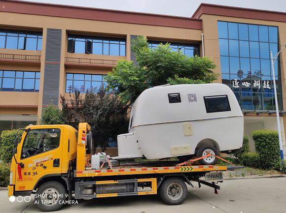 拖挂式房车展示