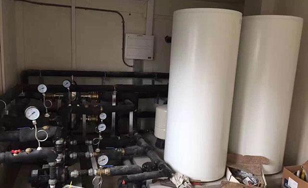 启东工程、别墅 地源热泵冷、热水三联供