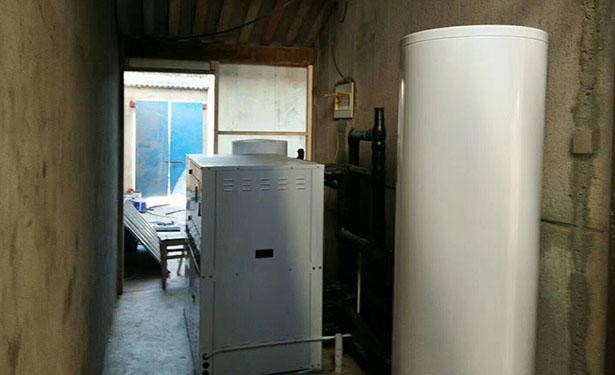 港闸区工程、别墅 地源热泵冷、热水三联供