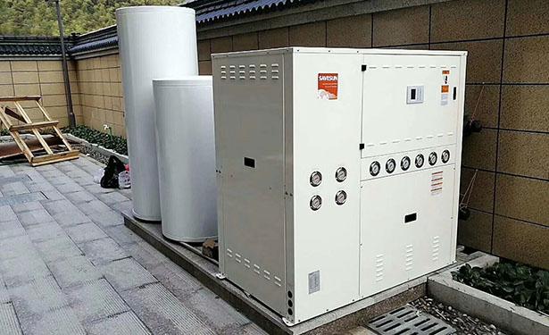 南通工程、别墅 地源热泵冷、热水三联供