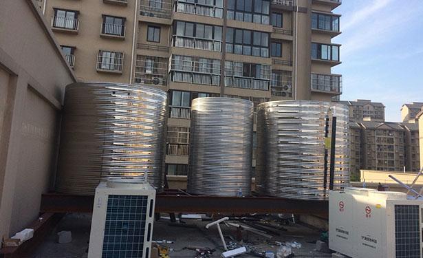 港闸区太阳能、空气源热泵热水系统