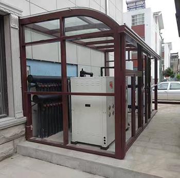 工程、别墅 地源热泵冷、热水三联供