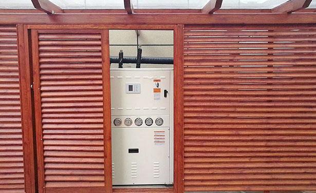 地源热泵的供热系统