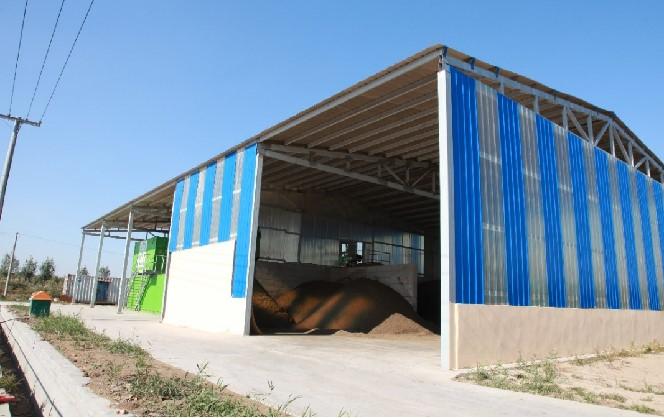 内蒙古BRU牛床垫料再生系统