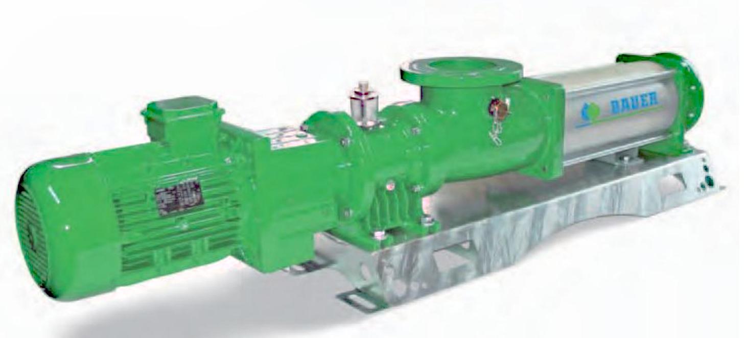 奥地利BAUER_螺杆泵